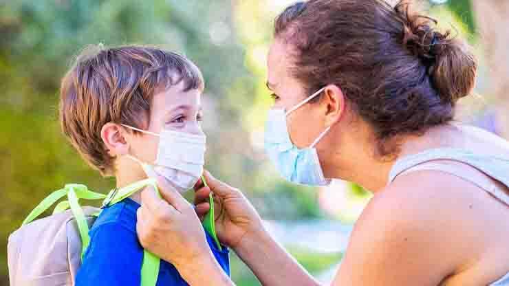 Bambini e mascherina cosa c'è da sapere