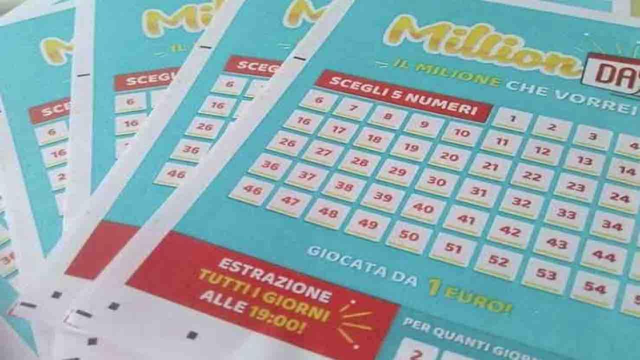 Million Day estrazione oggi 28 settembre verifica schedina e numeri