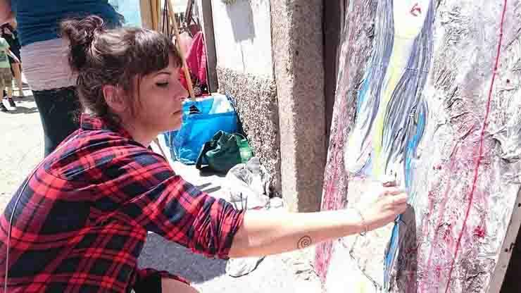 murales salvini renzi conte