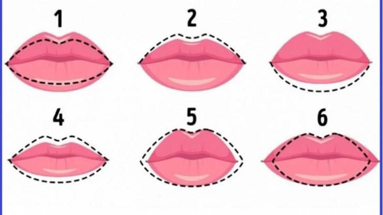 Cosa svela su di te la forma delle tue labbra? | Test psicologico