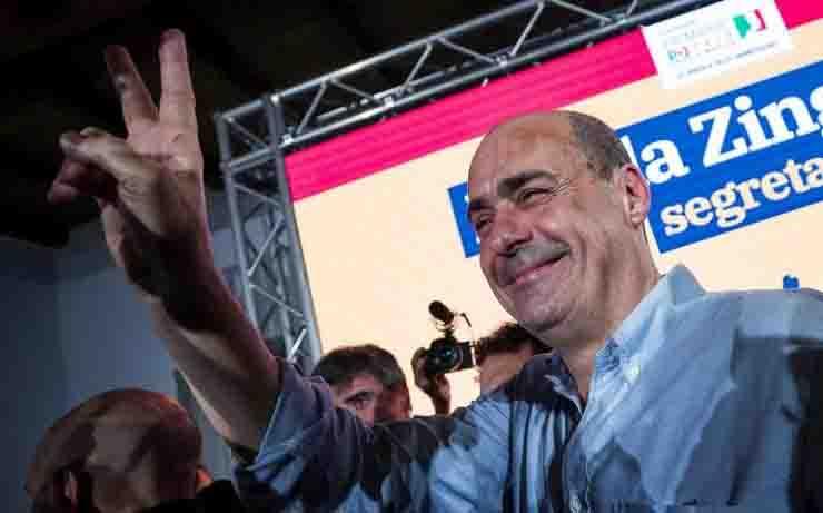la politica del cantar vittoria Zingaretti
