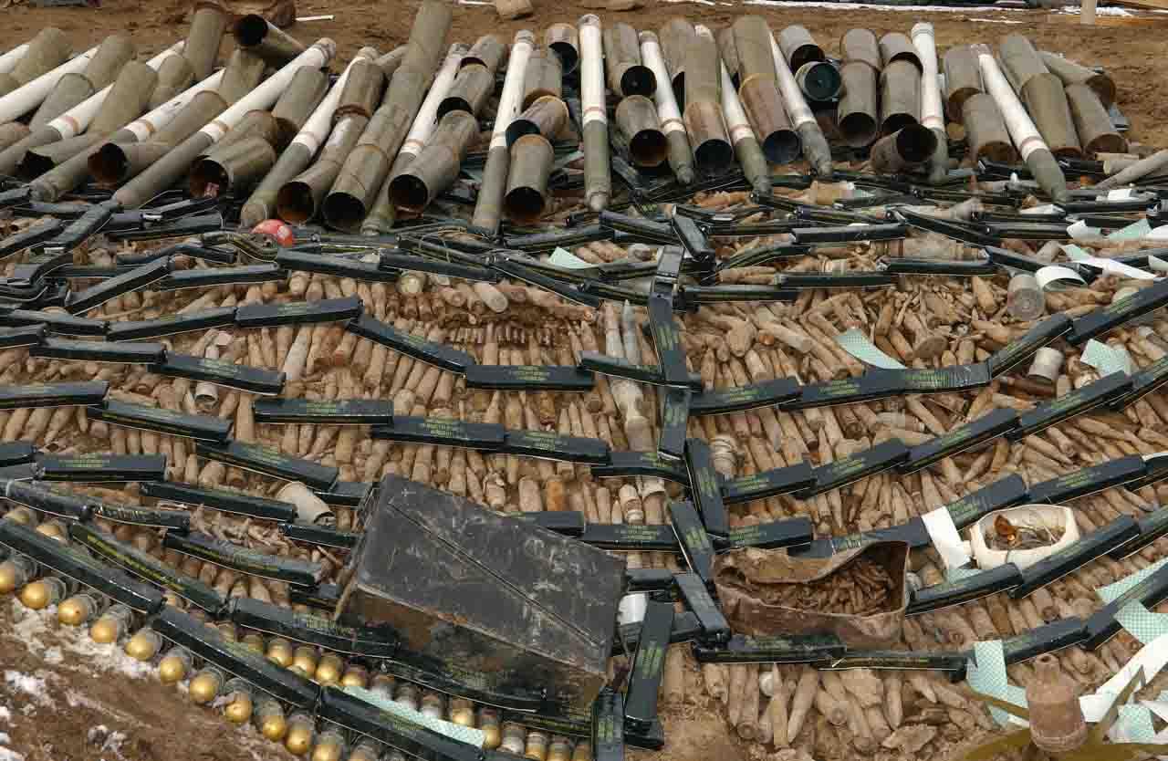 In casa e in cantina 150 kg esplosivi, un arresto a Barletta