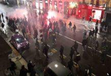 28 persone in questura proteste dpcm milano