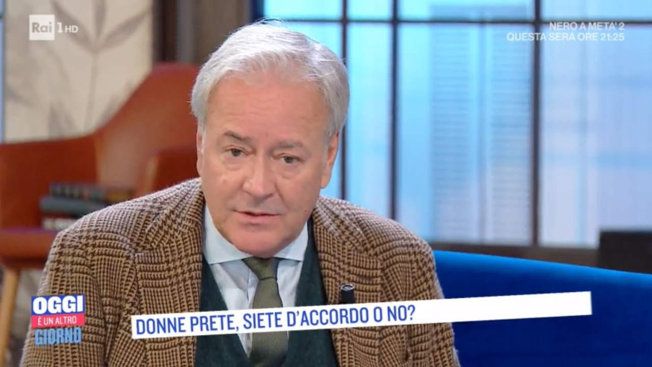 """Corrado Tedeschi confessione scomoda in Rai : """"Sono un gran peccatore"""""""