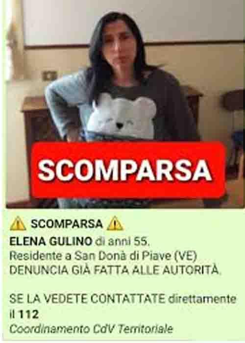 Elana Gulino, 54 anni, trovata morta nel fiume a Eraclea