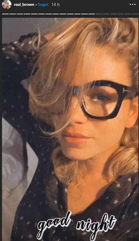 Emma augura la buonanotte ai suoi follower - Fonte Instagram