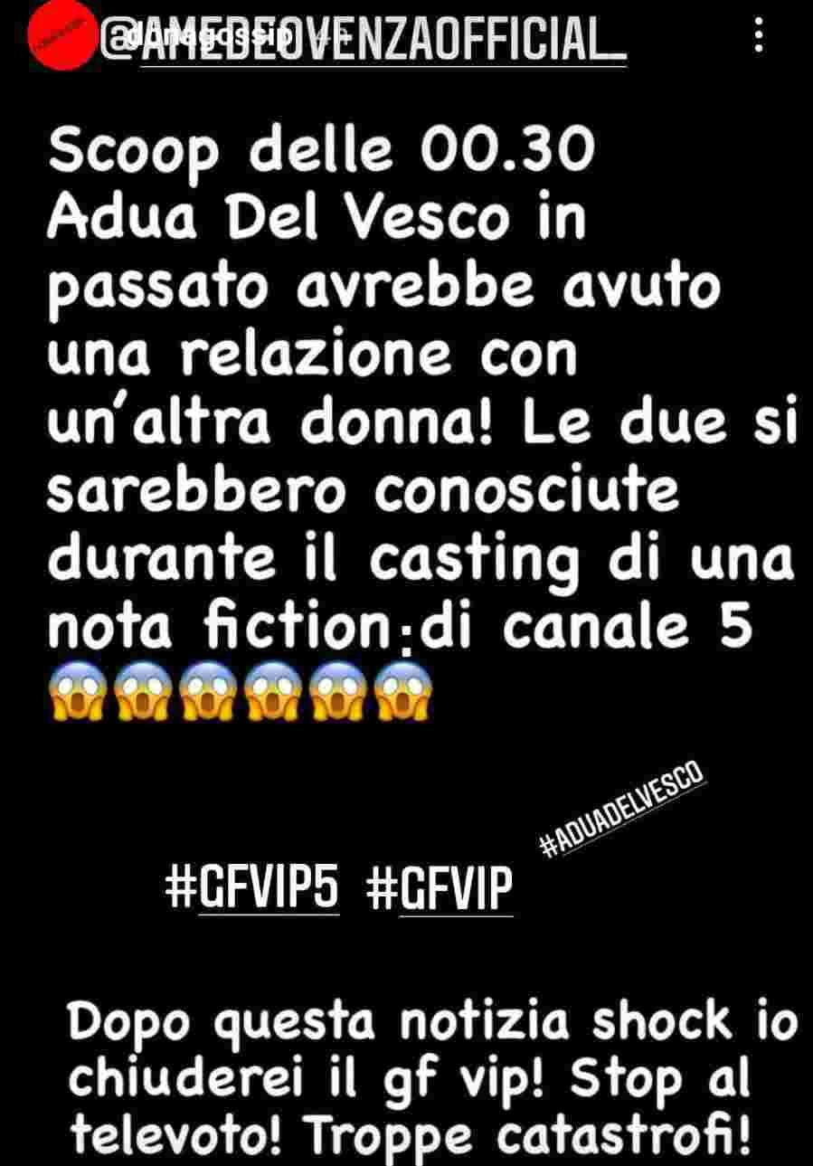 GF Vip rivelazioni - Fonte Instagram