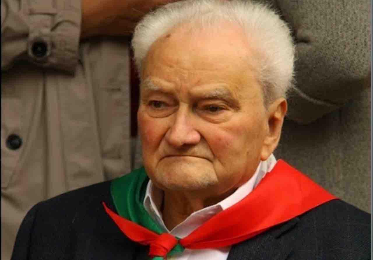 Resistenza: è morto Germano Nicolini, il comandante 'Diavolo'
