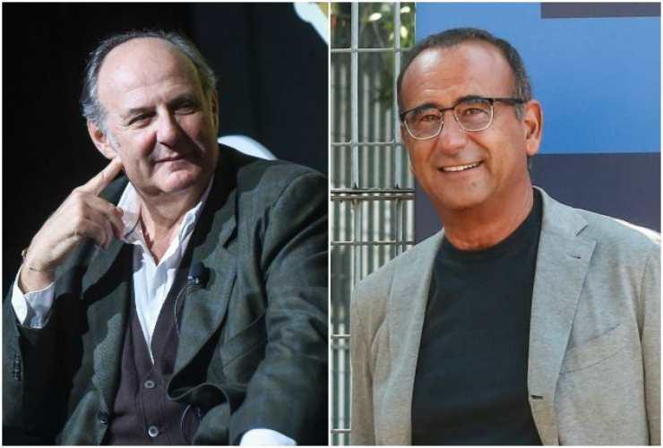 Gerry e Carlo Conti - meteoweek