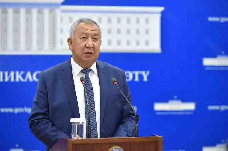 il primo ministro Kubatbek Boronov scomparso