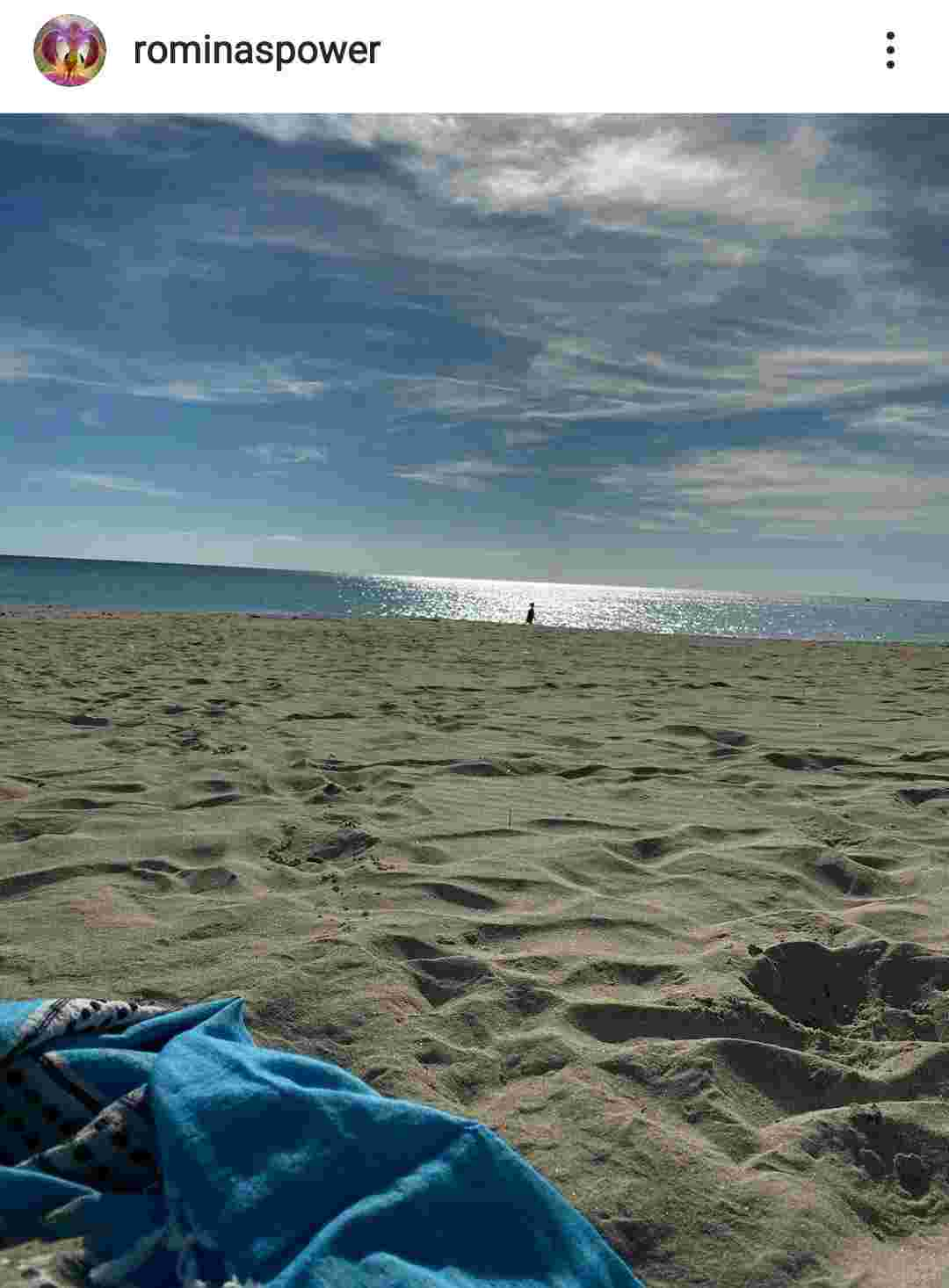La spiaggia della Puglia - Fonte Instagram