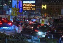 Lockdown Parigi - code di auto