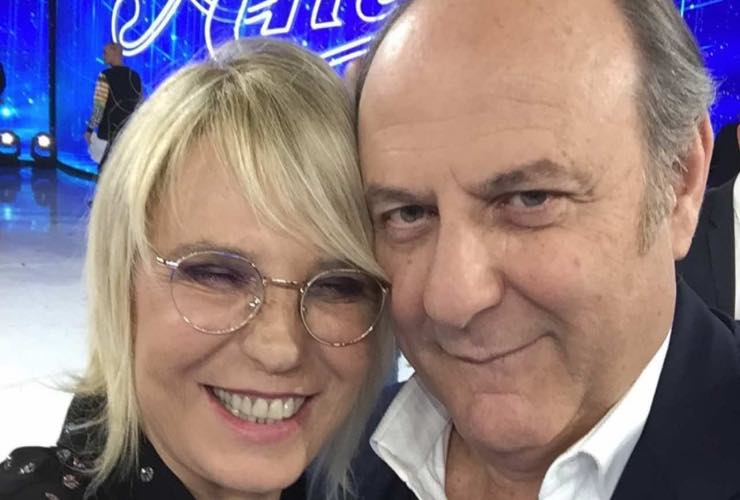Maria De Filippi e Gerry Scotti meteoweek.com