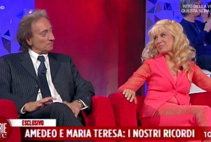 Maria Teresa e l'ex marito - Meteoweek