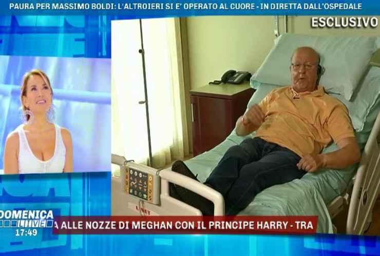 Massimo Boldi in ospedale - meteoweek