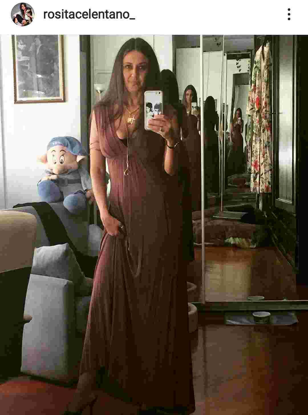 Rosita Celentano in stile gitano - Fonte Instagram