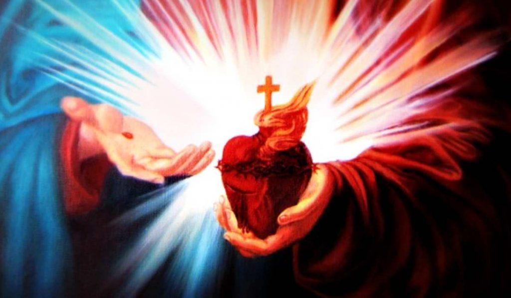 Il cuore di Gesù pieno d'amore