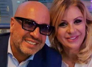 Tina Cipollari e Vincenzo Ferrara - meteoweek
