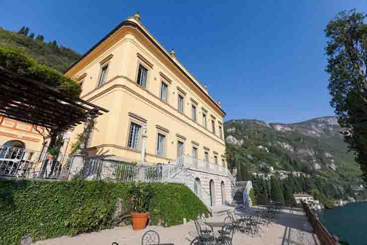 Stefano Panigari chef morto Villa Cipressi Lago di Como