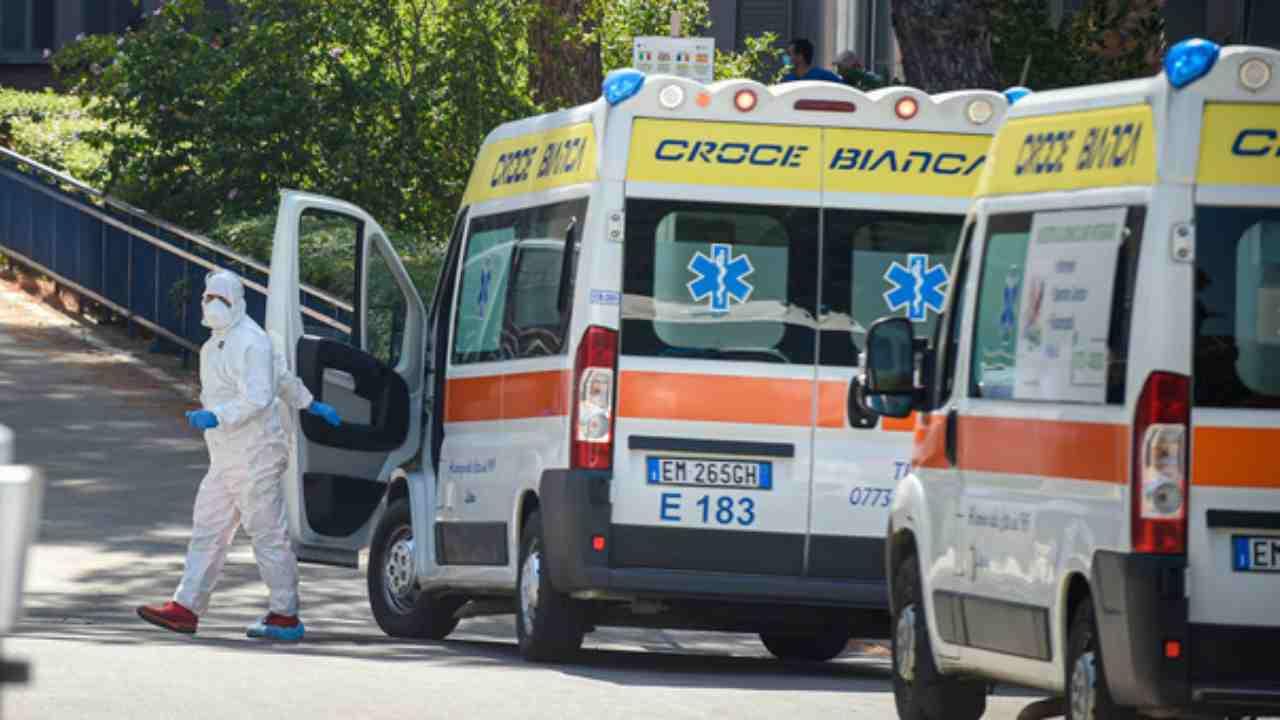 ambulanza ospedale avezzano
