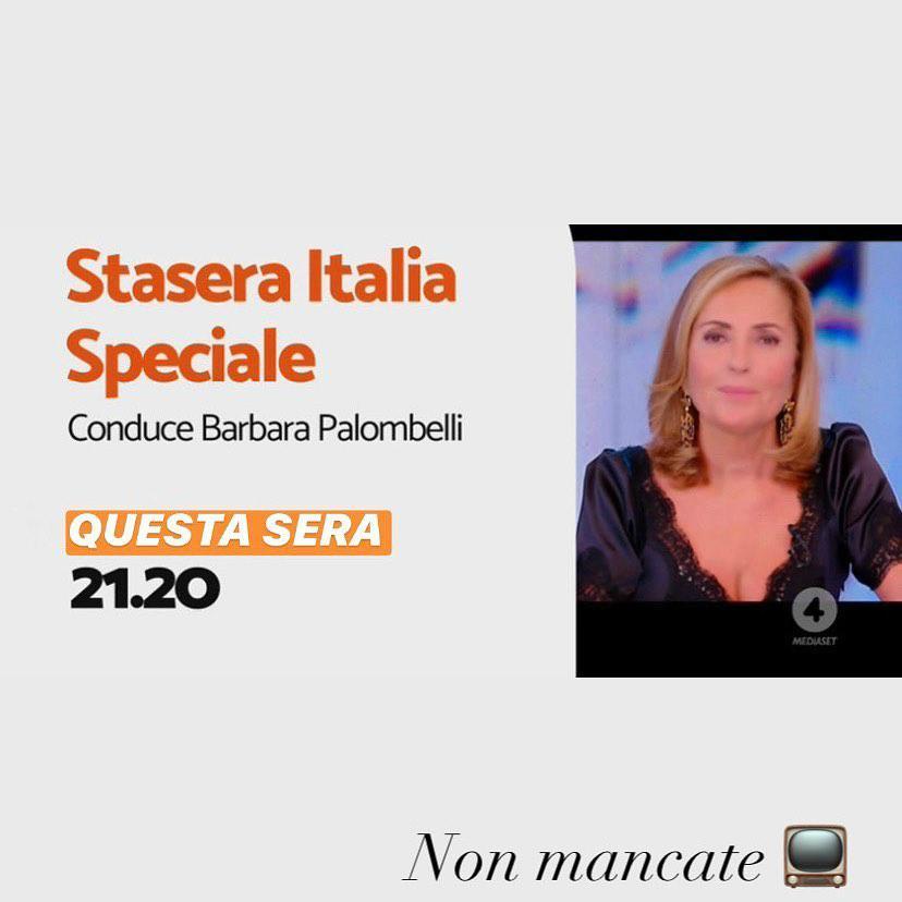 Barbara Palombelli Scollatura Da Urlo A Stasera Italia I Telespettatori Impazziscono