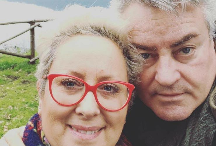 Carolyn Smith e marito