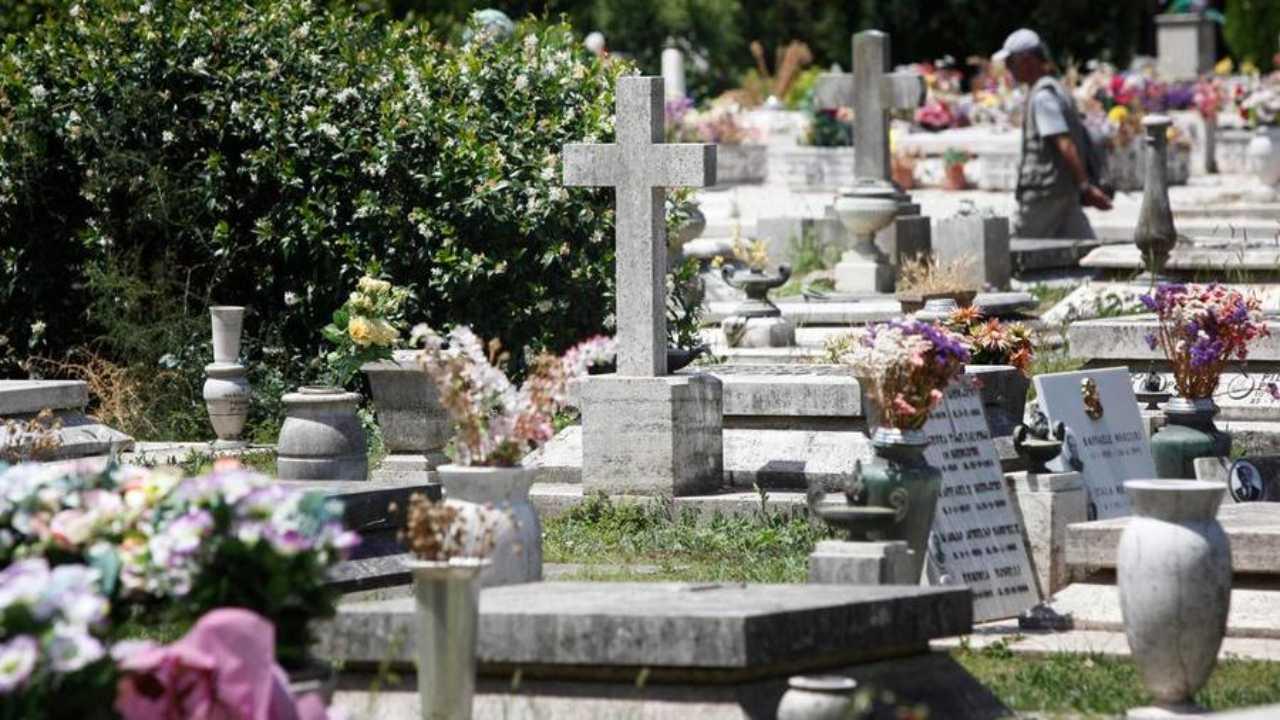 Elena Aubry cimitero
