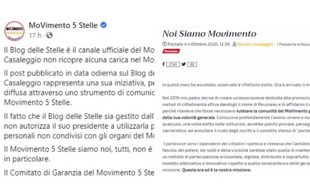 """Scontro M5s-Casaleggio, i pentastellati: """"Non ricopre alcuna carica"""""""