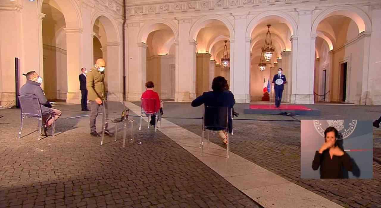 Conte, la cosa più evidente che ha trasmesso all'Italia non l'ha detta