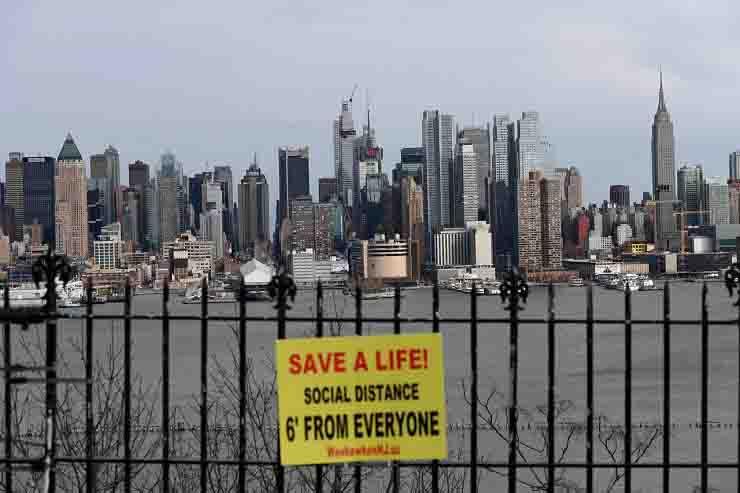 Coronavirus New York lockdown