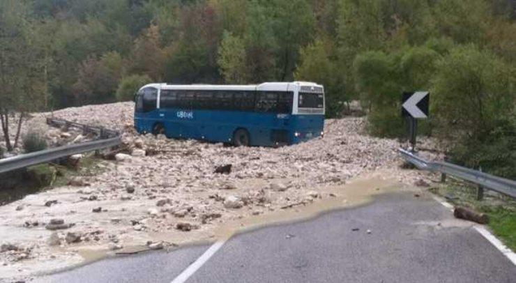 frosinone bus travolto