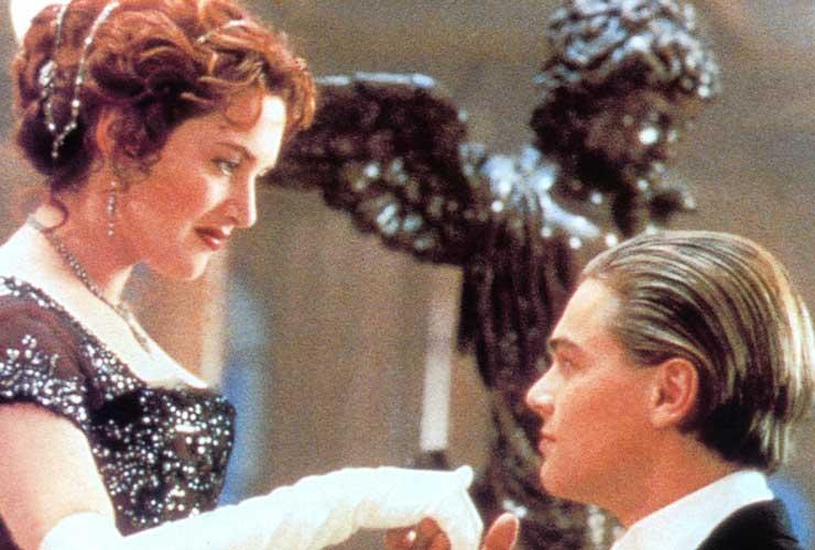 Leonardo Di Caprio e Kate Winslet