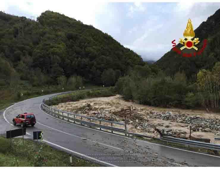 11 dispersi in Piemonte maltempo
