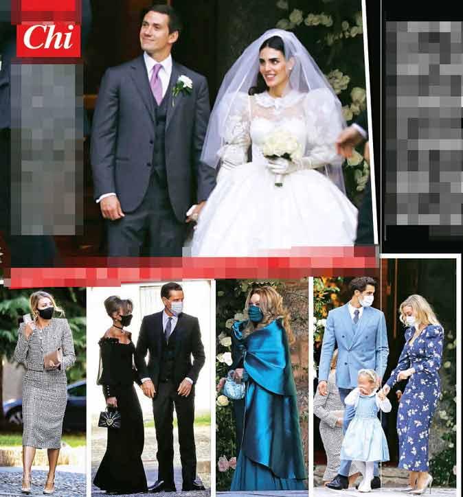 matrimonio di Luigi Berlusconi