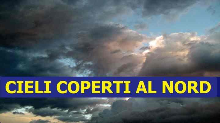 Meteo domani lunedì 19 ottobre previsioni | coperto al nord