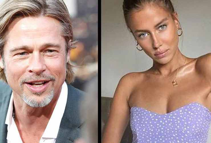 Brad Pitt e Nicole Poturalski
