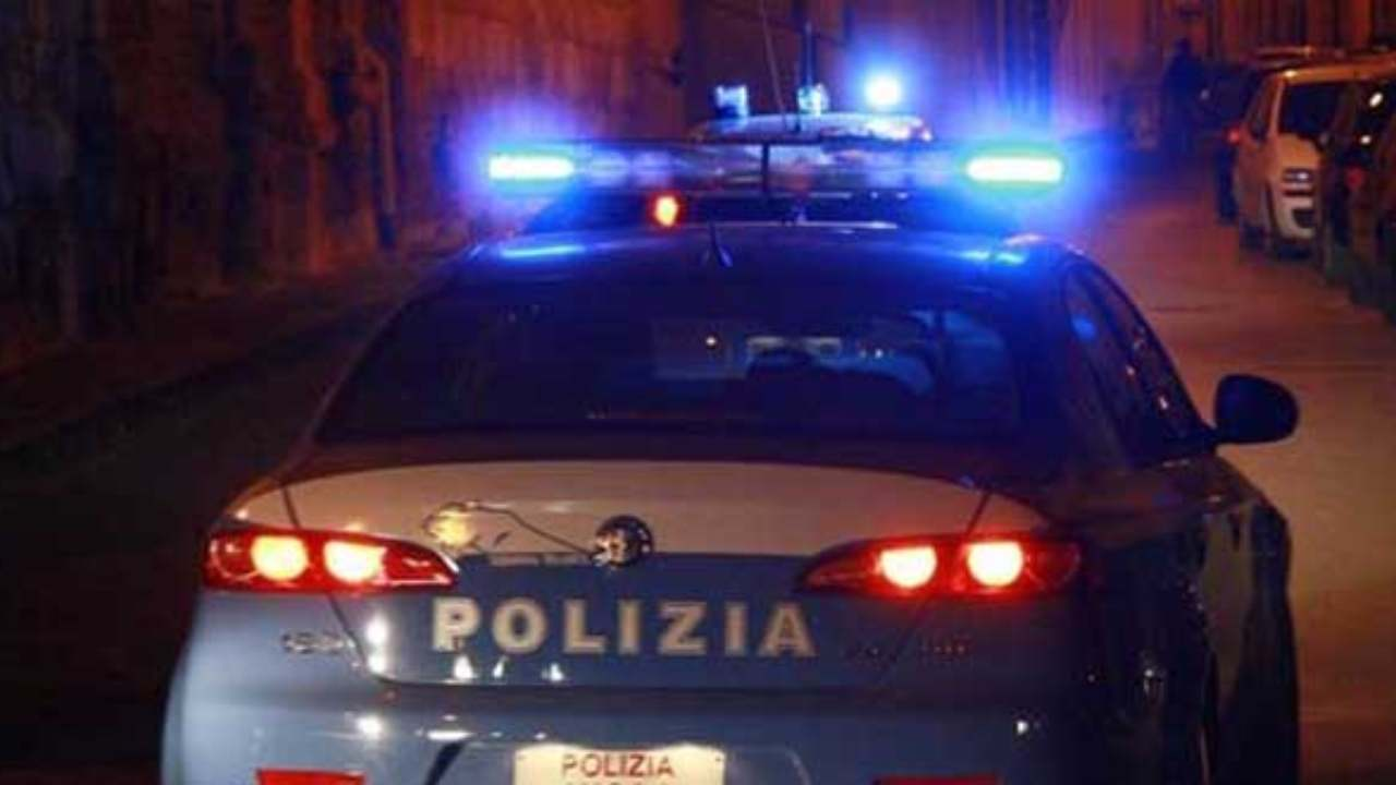 polizia rapinatore ucciso