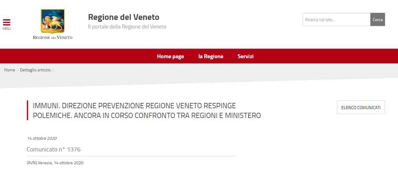 """Immuni non funziona in Veneto, Pd e M5s: """"Gravissimo"""""""