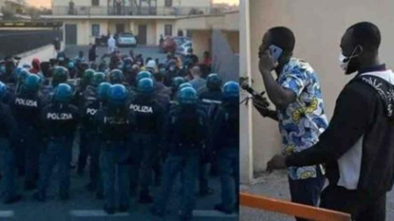 Migranti in rivolta, dipendente coop: chiusi in 8 in una stanza e minacciati
