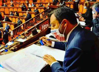 """Covid, Salvini cambia ancora idea: """"Se serve il lockdown, lo si faccia"""""""