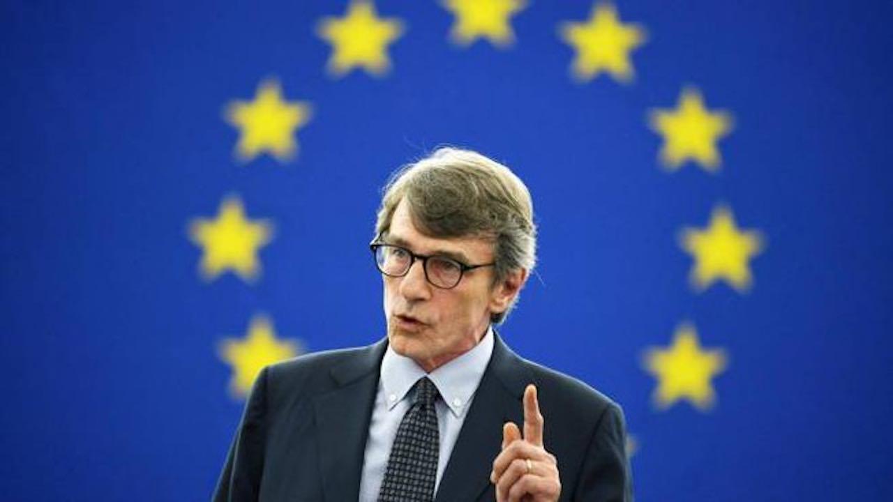 """David Sassoli, un messaggio sulla pace: """"Ecco cosa deve fare l'Europa"""""""