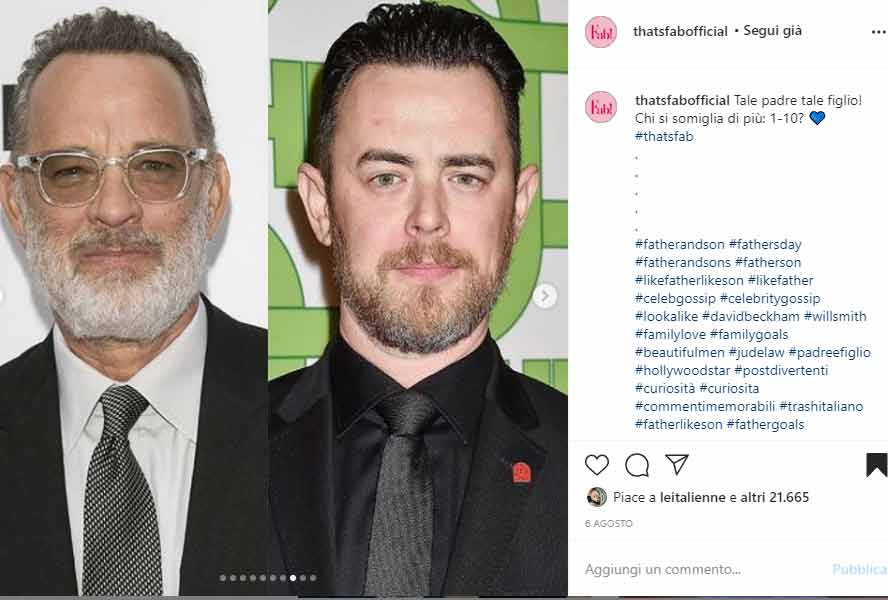Tom Hanks e Colin