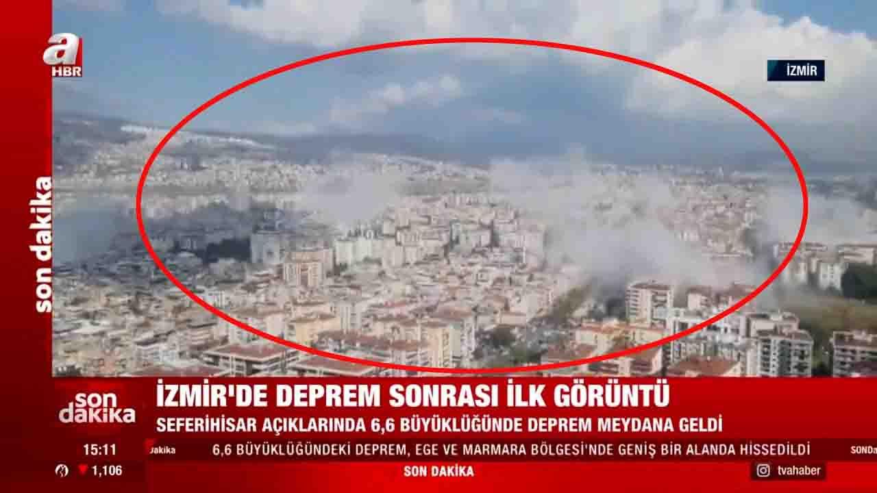 Tsunami Smirne terremoto