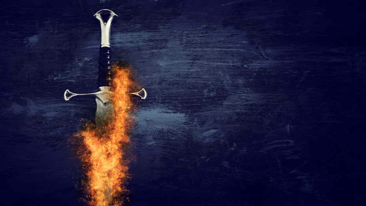 spada fuoco veità divide