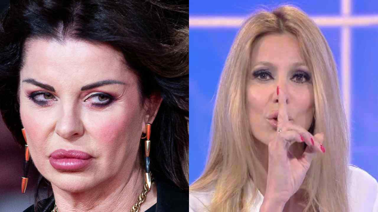 Adriana Volpe e Alba Parietti - meteoweek