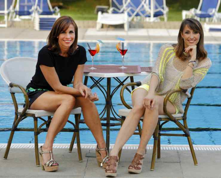 Cristina e Benedetta Parodi - meteoweek