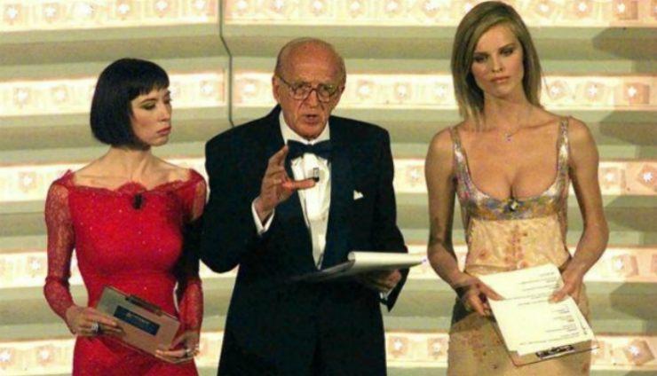 Eva Herzigova, Veronica e Vianello a Sanremo - meteoweek