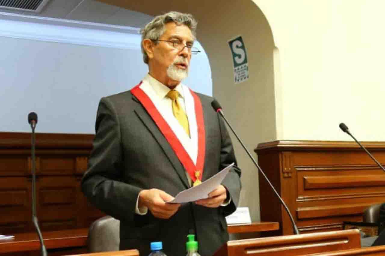 Francisco Sagasti presidente peru'