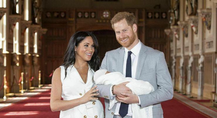 Harry, Meghan e il figlio - Meteoweek