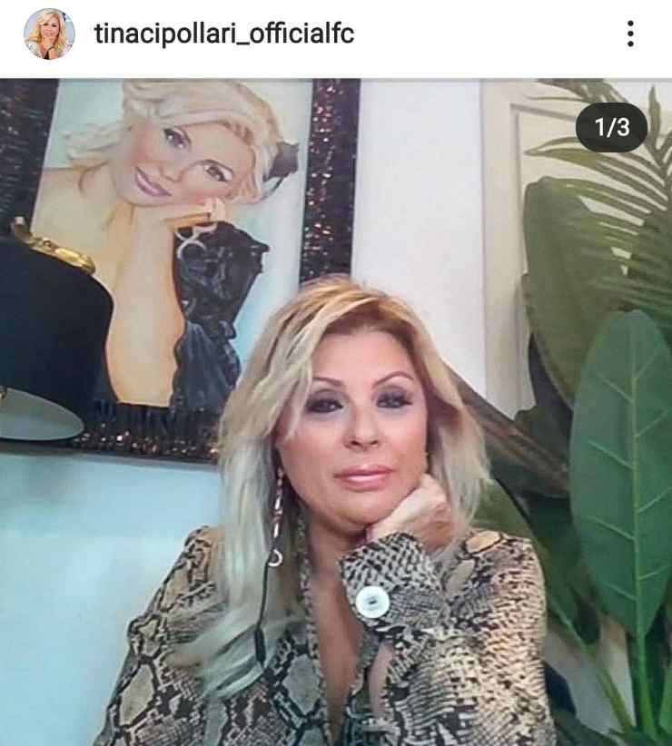 Il quadro di Tina Cipollari - Fonte Instagram